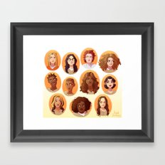 OITNB Framed Art Print