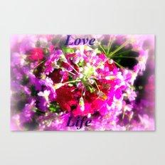 Love Life Canvas Print