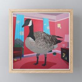 The Big Goose Framed Mini Art Print