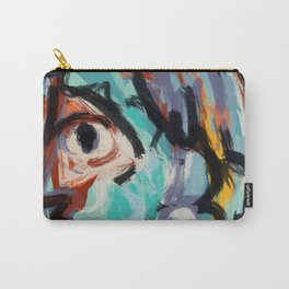 Woman and bird Carry-All Pouch
