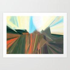 Morning Poppies Art Print