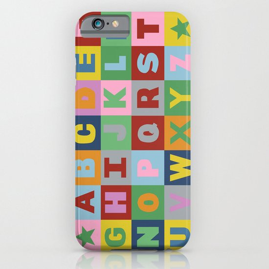Alphabet iPhone & iPod Case