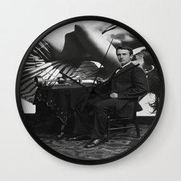 Sexy Thomas Edison Wall Clock