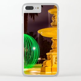 Fountain Orb Clear iPhone Case