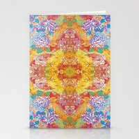 lsd Stationery Cards featuring LSD Flower by Zeus Design