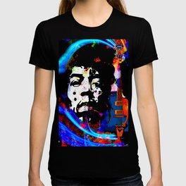 GUITAR MAN FEEL THE MUSIC KISS THE SKY T-shirt