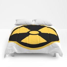 Nuclear Logo Symbol Comforters