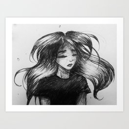 lifted me Art Print