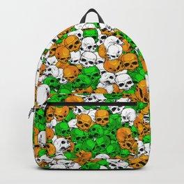 Irish skulls Backpack