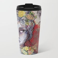 Nature Study by Jane Davenport Metal Travel Mug