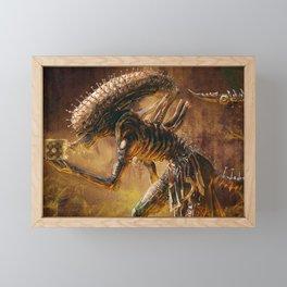 The Xenobite Framed Mini Art Print