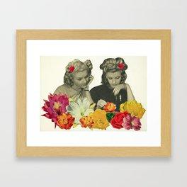 Flower Collectors Framed Art Print