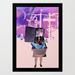 I bless the day I've found you Art Print