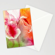 Iris, Magenta, Orange, Green DdFlowers Stationery Cards