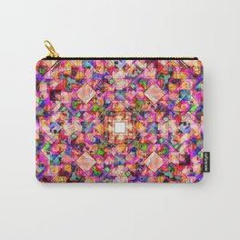 Colorful Digital Abstract Carry-All Pouch