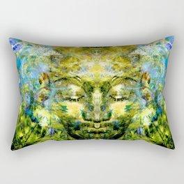 Brother Meditation Rectangular Pillow