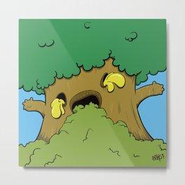 Tree Hugger Metal Print