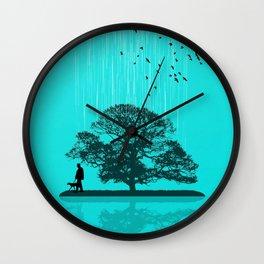 One Tree Hill Wall Clock