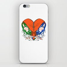 Clementine's Heart iPhone & iPod Skin