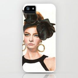 Moschino Fall 2012 iPhone Case