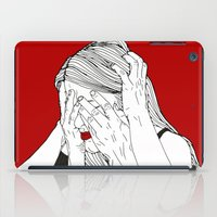 introvert iPad Cases featuring Introvert 3 by Heidi Banford