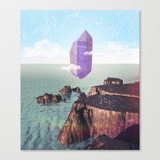 Purple trance Canvas Print