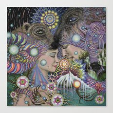 Threads Canvas Print