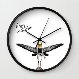 Amos Fortune Resolution Creature Wall Clock