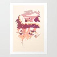 PacificSky Art Print