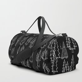 Lost in the wood, a lonely cabin (revers) Duffle Bag