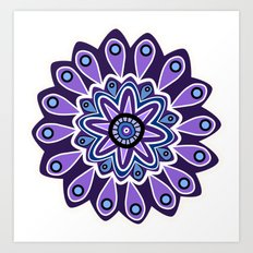 Flower 24 Art Print