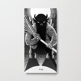 The Cleaner Metal Print