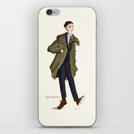 mr. Fishtail iPhone Skin