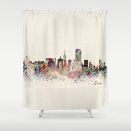 san francisco skyline Shower Curtain