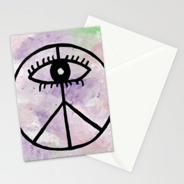 Peace Eye Stationery Cards