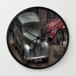 Vintage Cars. Wall Clock