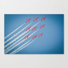 RAF Red Arrows #1 Canvas Print