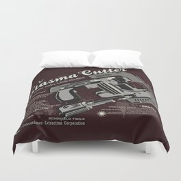 Dead Space - Plasma Cutter Duvet Cover