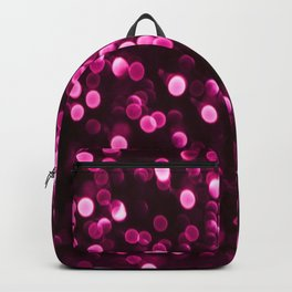 Bokeh Light In Purple Color #decor #society6 Backpack