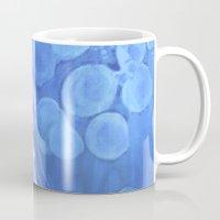 jelly fish Mugs featuring Jelly Fish by Lise Dumas Richard