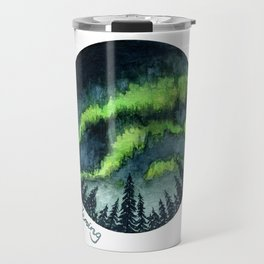 Aurora Forest Travel Mug