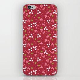 Liberty secondary print iPhone Skin