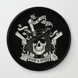 GnR - Not In This Lifetime Tour (Slash) Wall Clock