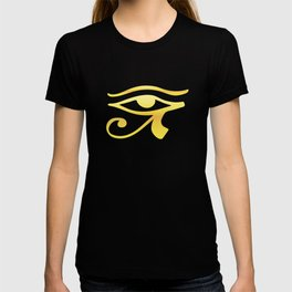 Eye of Horus Golden T-shirt