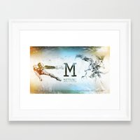 metroid Framed Art Prints featuring Metroid by Alexander Pohl