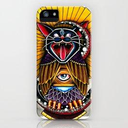 Cat Owl iPhone Case