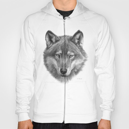 Wolf face G084 Hoody