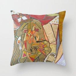 UN PICASSO MIO Throw Pillow