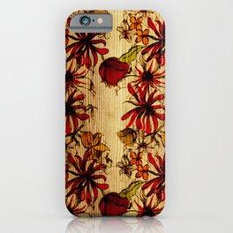 Sketchbook Floral iPhone Case