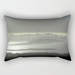 Silver California Rectangular Pillow